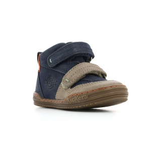 Kickers JINTABA MARRON AZUL
