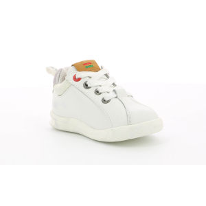 Kickers CHICAGO BB bianco argento