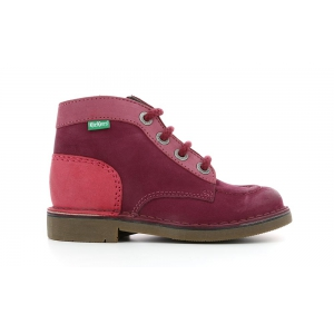 Kickers KICK COLZ BORDEAUX ROSE