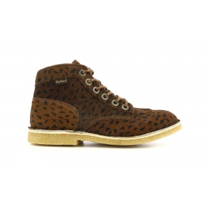 Kickers KICK LEGEND MARRON OSCURO POIS NEGRO