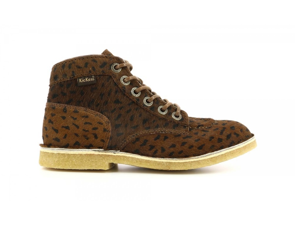 KICK LEGEND DARK BROWN POIS BLACK