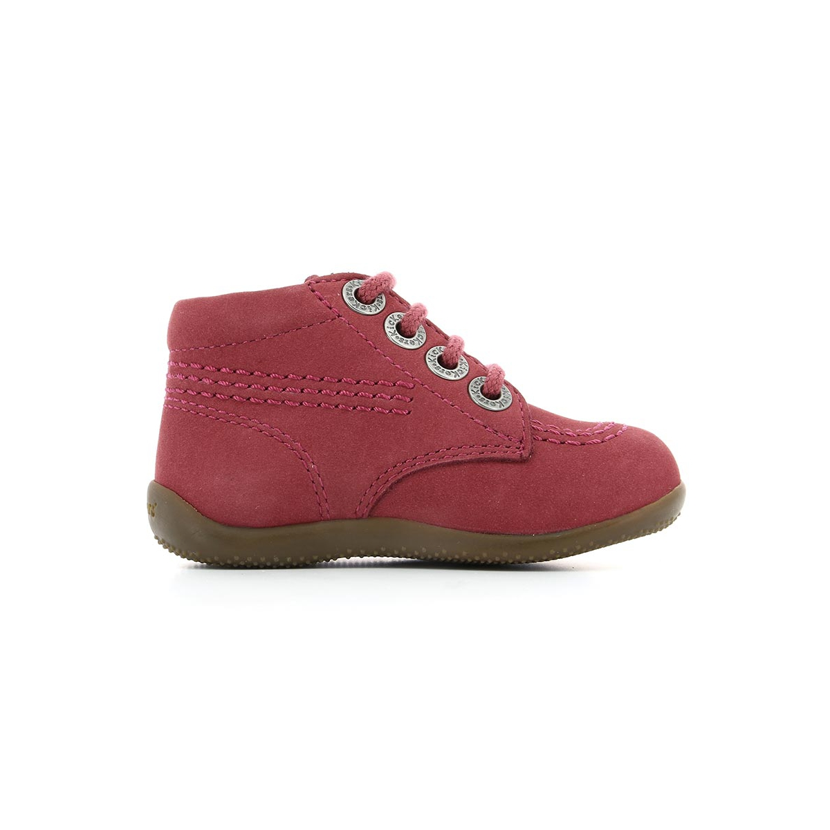 Billy Enfant Chaussures Fonce Kickers Rose 5ZqvwO