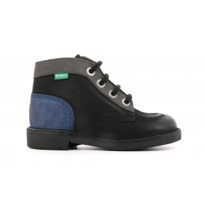 Kickers KICK COLZ BLACK BLUE