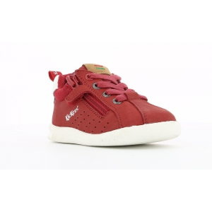 Kickers CHICAGO BB ROUGE BLANC
