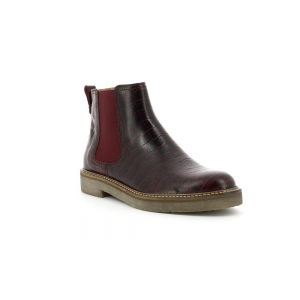Kickers OXFORDCHIC BURGUNDY