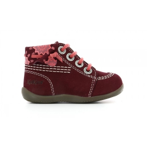 Kickers BIKOL BORDEAUX PRINT SPIRIT