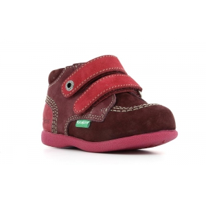Kickers BABYSCRATCH BORDEAUX FUSCHIA