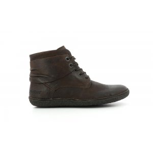 Kickers HOBYLOW MARRON FONCE