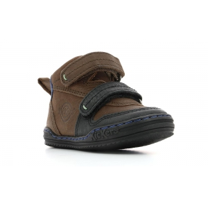 Kickers JINTABA NOIR MARRON