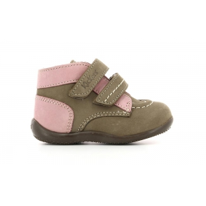 Kickers BONKRO GREY PINK