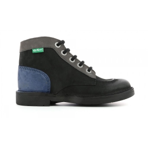 KICK COL BLACK BLUE