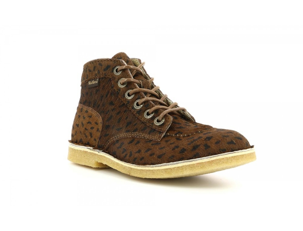 KICK LEGEND MARRON OSCURO POIS NEGRO