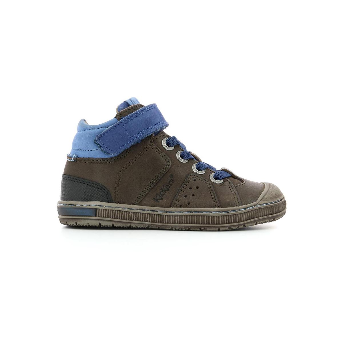 Iguane Chaussures Kickers Fonce Enfant Marron 4wzw7q