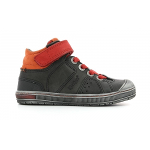 Kickers IGUANE GREY DARK RED