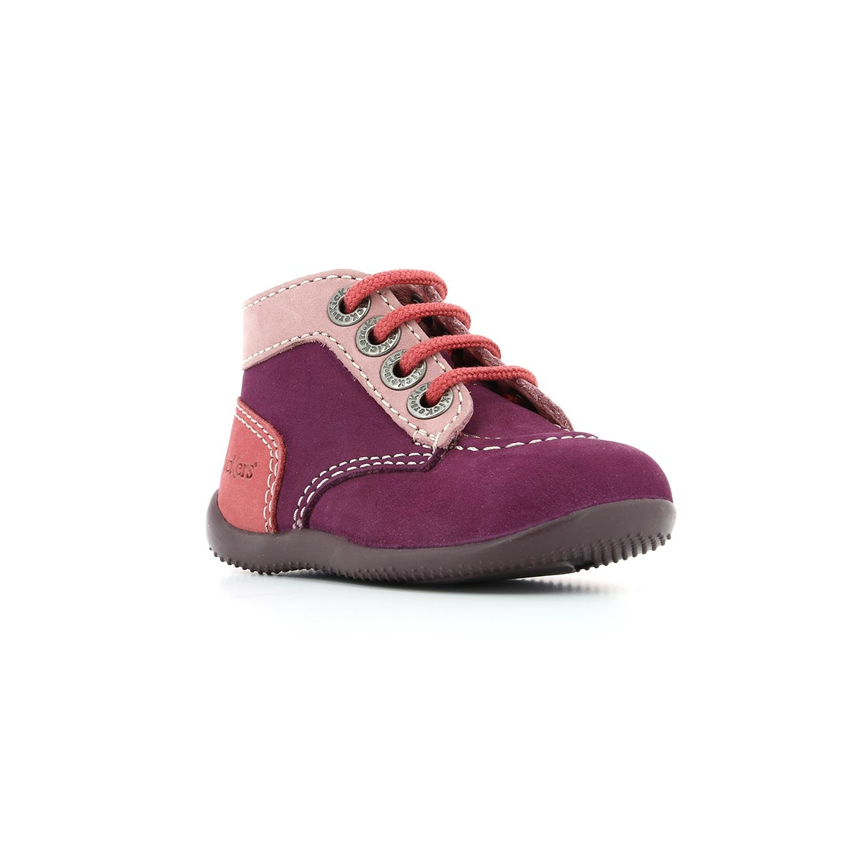 more photos ea585 6874f Scarpe bambini BONBON violetto rosa chiaro rosa - Kickers
