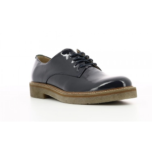 Kickers OXFORK marinaio scuro vernice