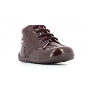 Kickers BILLISTA BORDEAUX VERNIS