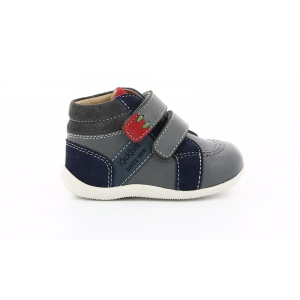 Kickers BAKA GRIS MARINE ORANGE