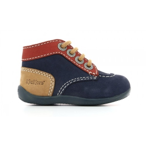 Kickers BONBON MARINE ORANGE BEIGE