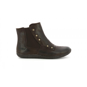 Kickers HAPPLI MARRON FONCE