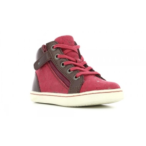 Kickers LYLUBY BORDEAUX METALLIC