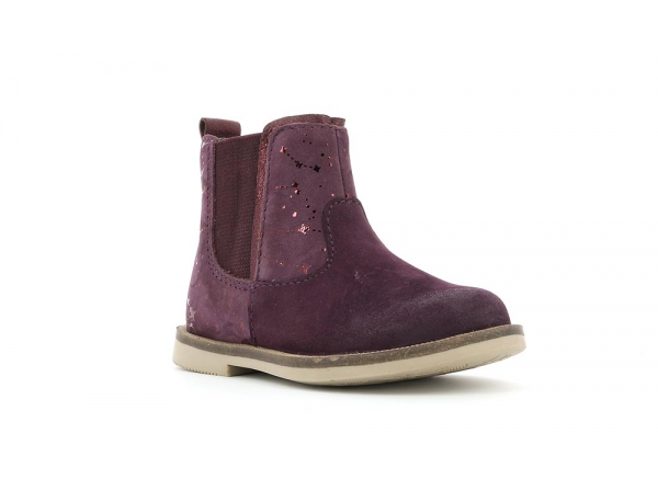 Kid's schuhe MOON Kickers BURGUNDY Kickers MOON 110d10