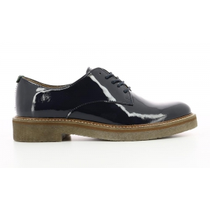 Kickers OXFORK NAVY DARK PATENT