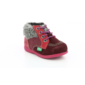 Kickers BABYFROST BORDEAUX FUSCHIA