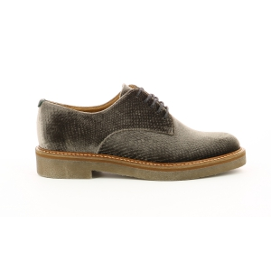 Kickers OXFORK ARGENT VELOURS