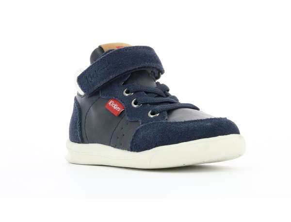 Kickers CHICAGO BB MID BLU SCURO