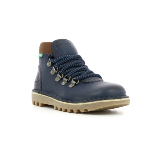 Kickers NEOVARAP NAVY BROWN