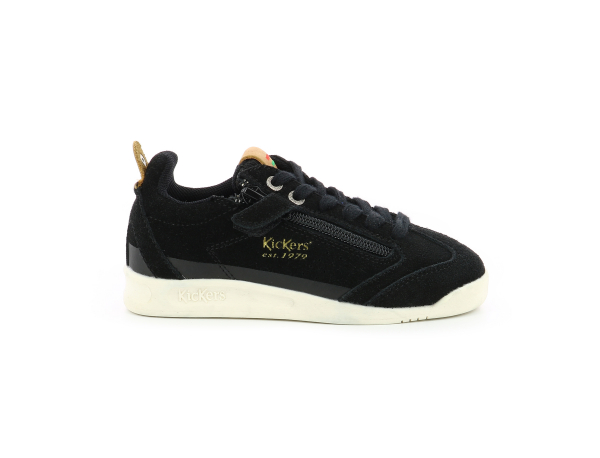 KICK 18 CDT ZIP NEGRO