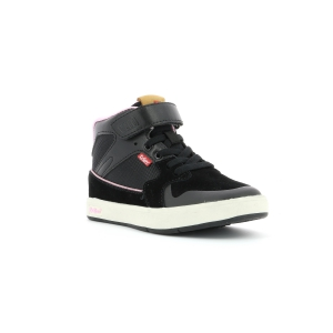 Kickers GREADY MID CDT nero rosa