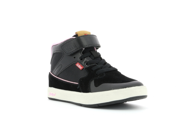 Kickers GREADY MID CDT NOIR ROSE