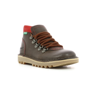 Kickers NEOVARAP MARRON ROUGE