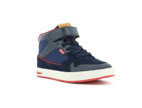 Kickers GREADY MID CDT NAVY RED