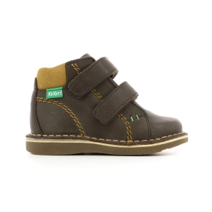 Kickers WAZZUP DARK BROWN