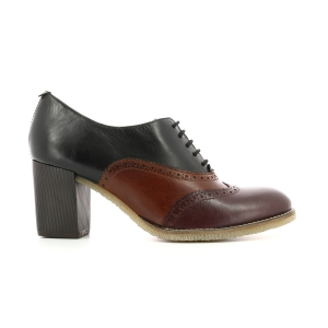 MAYLIE BURGUNDY BROWN BLACK