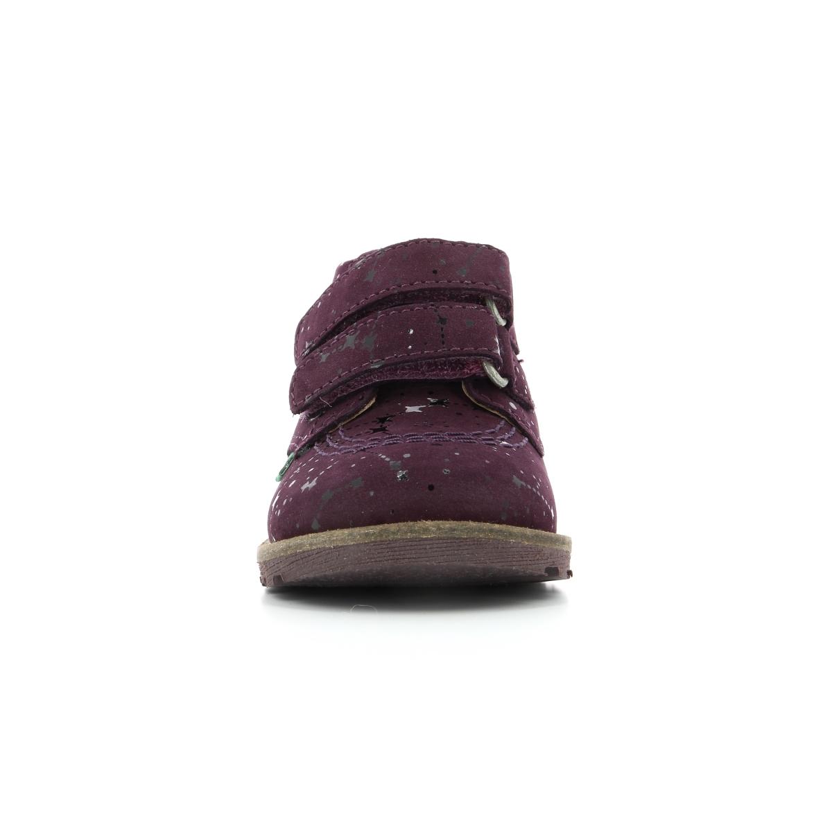 6a39ba5fc50ca Chaussures Enfant NONOMATIC BORDEAUX FOIL ASTRO - Kickers