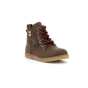 Kickers MUSK MARRON OSCURO