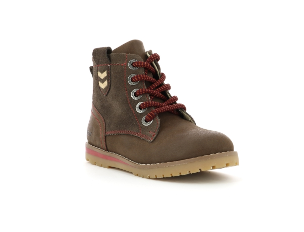 Kickers MUSK MARRON FONCE