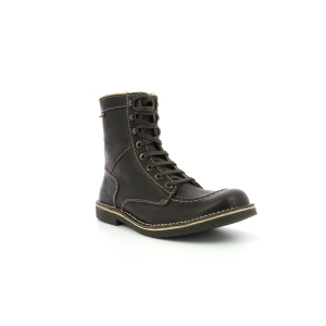 Kickers KICKSTONERY MARRON FONCE