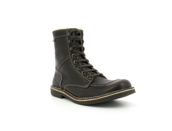 Kickers KICKSTONERY DARK BROWN