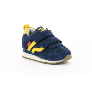 Kickers CARILLON BB AZUL AMARILLO