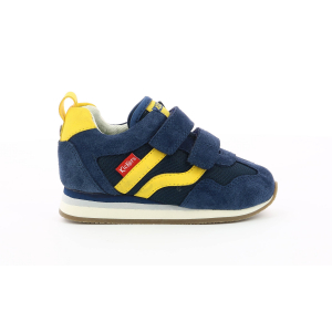 Kickers CARILLON BB blu giallo