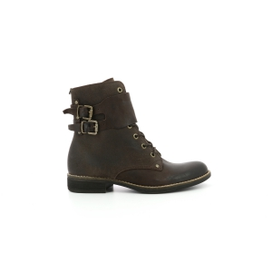 Kickers SMILE DARK BROWN