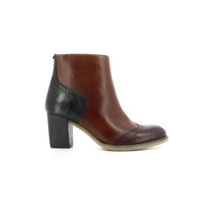 Kickers MISTY BURGUNDY BROWN BLACK