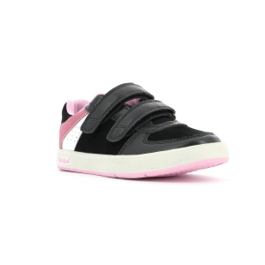 Kickers GREADY LOW CDT nero rosa
