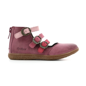 Kickers VEGBECKY BURGUNDY MULTI