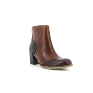 Kickers MISTY borgogna marrone nero